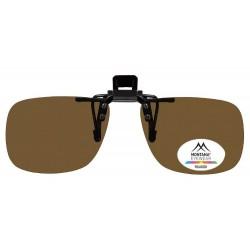 Polarizační klip na brýle