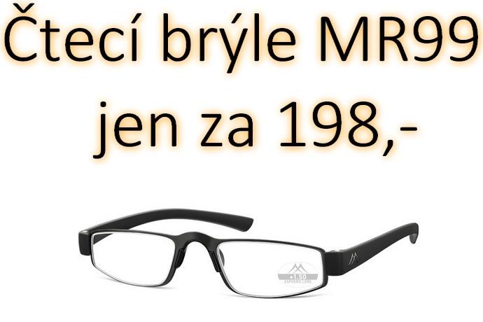 Čtecí brýle MR99 za 198,-